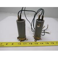 NTK Technology CE62B2E47IX 250V 470UF Capacitor from Okuma Lot of 2
