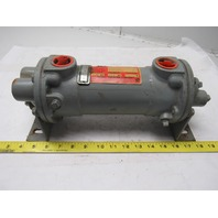 "Young Radiator 277441 SSF-301-HY-4P Heat Exchanger  3/4"" npt  & 1"" npt Ports"