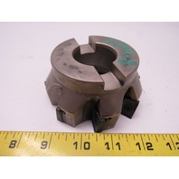 "Iscar 3M F90AX D400-8-150-20 90° Heavy Duty  8 Indexable Insert 4"" Face Mill"