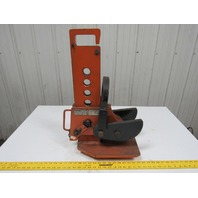 "RENFROE WHSR 6 Ton Vertical Sheet Plate Lifting Clamp 0-12"" Range VG Cond."