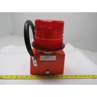 Edwards Signaling 91B-R AdaptaBeacon Portable Heavy Duty RED Strobe Light 12VDC