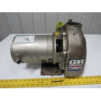 Gorman-Rupp 02D3-E1 3P 1HP 2x2 Self Priming Centrifugal Pump 208-230/460V 3PH