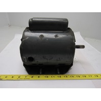 GE General Electric 5KC43MG362EX 1/4 HP Motor 1PH 115/220V 1140RPM 56 Frame