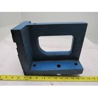 "11x8""x5-1/2"" Cast Iron 90° Angle Plate/Block Machinist Set Up Fixture"