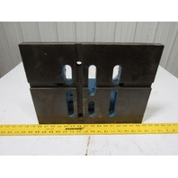 """14""""x12""""x16"""" Cast iron Slotted  90° Giant  Angle Plate  Machinist Set Up Fixture"""