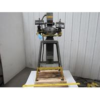 """US ELECTRICAL TOOL 8"""" Pedestal Grinder 220V 3Ph 3450RPM 60Hz Tested"""