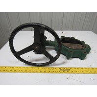 """Stockham LG722-BS3E 8"""" Lug Type Butterfly Valve W/Manual Hand Wheel Actuated"""
