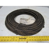 WIRECO 5/8 6X36WS RR XIP IWRC Wire Rope 106' New Hoist Lift Cable