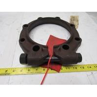 "United Conveyor Corp. 2-17079 6"" Locking Fly Ash Pipe Coupling Flange Clamp Kit"