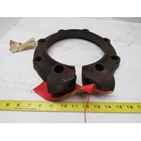"United Conveyor Corp. 2-17079 6"" Locking Fly Ash Pipe Coupling Flange Clamp Kit"