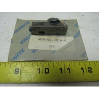 Valenite MSYNR-12CA-4 Indexable Boring Turning Cartridge Insert Tool Holder