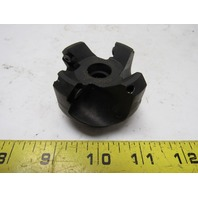 "Valenite SEE45°-020-1R1-075F Shell Mill Face Mill Cutter 45° 2"" Dia"