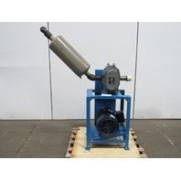 SUTORBILT 5HP 20 HP GAEHBPA Rotary Blower & Motor 3PH 50/60Hz