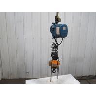 "Mannesmann Demag PMV5 V1 F6 Electric Chain Hoist 2 Speed 460V 100Lbs. 9'6"" Lift"