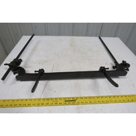 Vintage Backstop Fence For Small Shear/Box Brake See Info