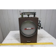 """Chatillon MST-250 Manual Spring Test Stand 250 lbs. x .5 lbs. W/11"""" Dial Face"""