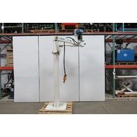 ZASCHE DEMAG KSL 150-2,15/2,28 330 LB Freestanding Articulating Jib Crane& Hoist