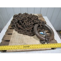 """Branches 2 Leg 5/8"""" X 12' Continuous Loop Basket Chain Sling WLL31300 Grade 800"""