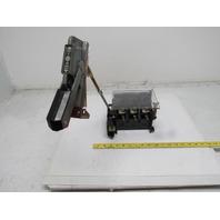 Allen Bradley 1494V-DS100 Ser B Disconnect Switch 100A 600V Non-Fused Left Hand