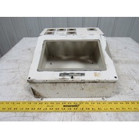 """Slope Front Operator Interface Electrical Enclosure 16""""x14""""x8"""" Fits Panelview"""