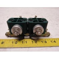 Siemens B25835-K6474-K007 Capacitor W/Holder Lot of 2