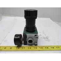 """Rexroth 5351420200 REG C 15i 12 Bar Max Air Pressure Regulator 1/2"""" Ports"""