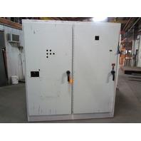 "Hoffman A84XM7818FTC  Electrical Enclosure 2 Door W/Disconnect 84""x78""x18"""