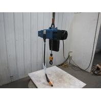 Demag DCS Pro 10-1000 1/1H8 VS6-11 Electric Chain Hoist 2200 lb 26' Lift 460V