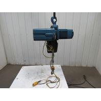 Demag DKUN-10-1000K-V2F4 2200Lb Electric Hoist 13' Lift 460V 2 Speed Tested