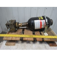 Hydac 02055208 2.5 Gal High Pressure Hydraulic Accumulator Counterbalance