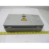 Rittal EB1545 Metal Enclosure NEMA 4 Wall Mount Steel 300mm 150mm W/Back Plate