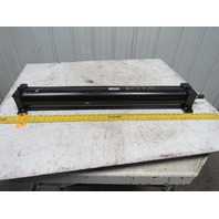 """Parker 04.00 CMAUS34A 33.000 Pneumatic Air Tie Rod Cylinder 4"""" Bore 33"""" Stroke"""