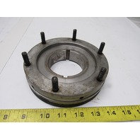 """6"""" Hydraulic Chuck Fixed Stud Back Adaptor Plate 2.750"""" Spindle"""