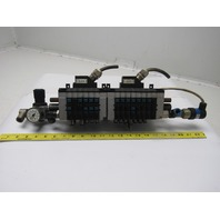 Festo CPV14-GE-MP3 12 Section Valve Terminal Regulator Assembly Manifold