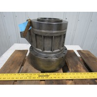 """12"""" Large Through Hole Hydraulic Rotary Cylinder Spindle Chuck 5"""" ID"""