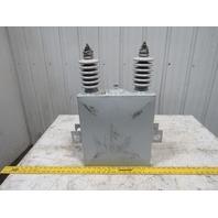 Cooper CEP130M64 Type EZ-7L Single Phase Power Capacitor 200KVAR Parts or Repair
