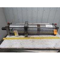 "Milwaukee C-14167 Pneumatic Air Tie Rod Cylinder 8"" Bore 37"" Stroke"