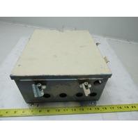 "Hoffman A-1210CHNF JIC Wall Mount Electrical Enclosure 12""X10""X5"" W/ Back Plate"