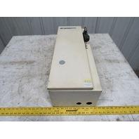 A-B Allen Bradley 598DA27108T 30A 600V 3 Pole Fusible Disconnect Enclosure