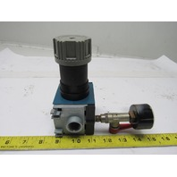 "Rexroth Mecman 5351420300 REG C15i Pneumatic Air Regulator 12 Bar max. 1/2"" NPT"