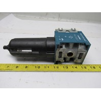 "Rexroth Mecman 5351230810 FIL C25i Pneumatic Air Filter 12 Bar max. 1/2"" NPT"
