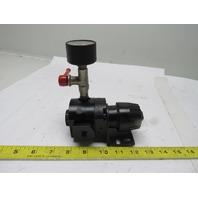 "Rexroth PP15-C2-000 Precision Pneumatic Air Regulator 0-15 PSIG 1/4"" NPT"
