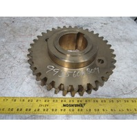 "Koike Aronson 9935-6068-04 GE1200 Gearbox Sub-Ass'y Primary Worm Gear 4"" Bore"