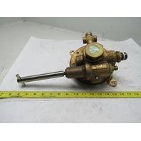 Union Carbide 2028301 L-Tec R.52 10M 80.1 High Capacity Oxygen Regulator 350 PSI