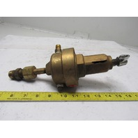 Union Carbide Linde CGA-550 R55I17 Brass Compressed Acetylene Gas Regulator