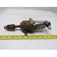 "Union Carbide Linde R-76 150-024 200 PSIG Max Oxygen Regulator 1/4"" Ports"
