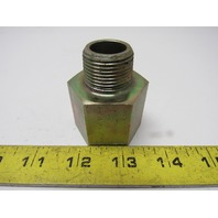 "Hydraulic Fitting Steel Reducing Adapter 1"" NPT Female X 3/4"" NPT Male"