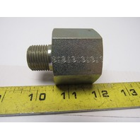 "Hydraulic Fitting Steel Reducing Adapter 1""NPT Female X 1/2""NPT Male"