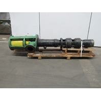 Process Systems Inc. 2-12M-90 Thrust Head Industrial Vertical Turbine Pump