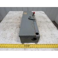 "Westinghouse A204J2ABX Model B Size 2 8""x25""x9"" Electrical Disconnect Switch Box"